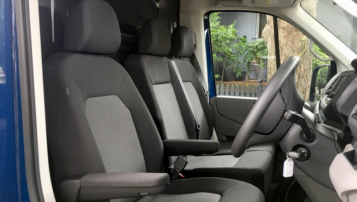 If you've sat in - or happen to own - any current VW, the cabin of the Crafter will feel familiar to you.