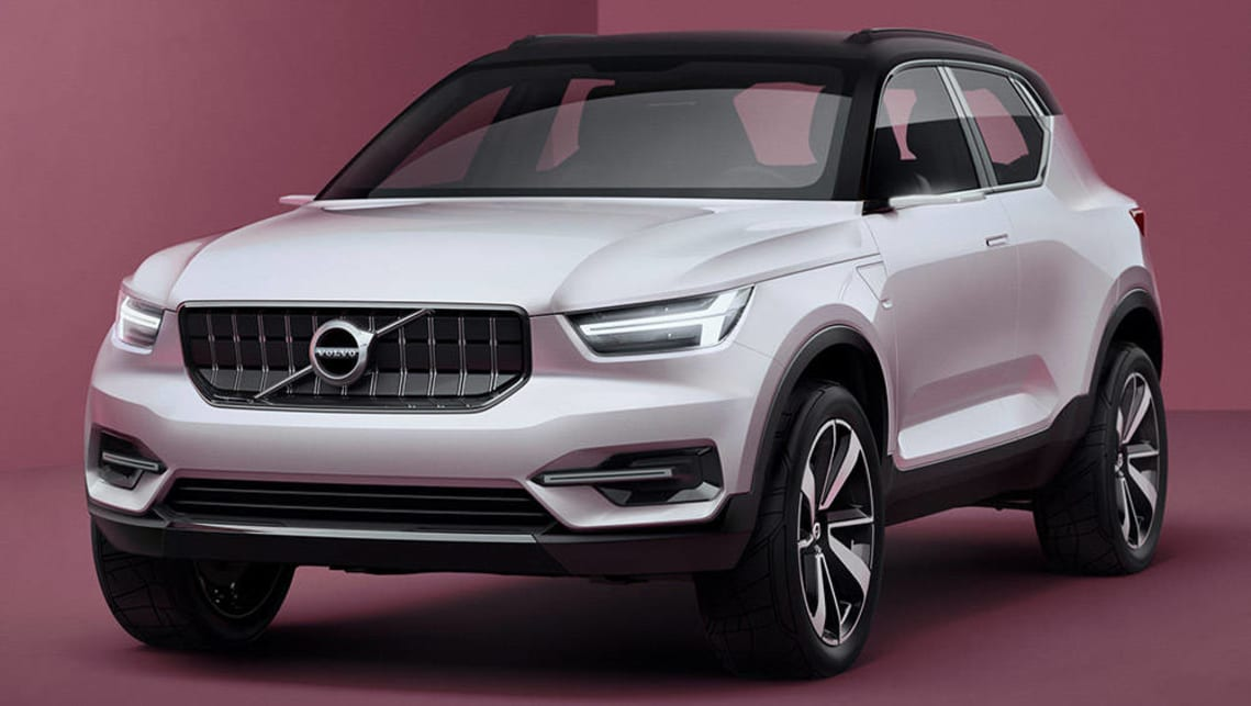 Volvo Previews New Xc40 Suv And S40 Sedan With New Concepts Car