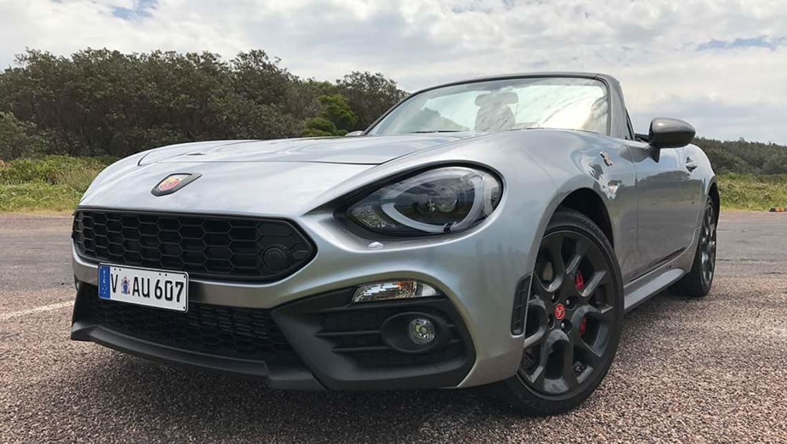 Abarth 124 Spider Manual Convertible 2016 Review Carsguide