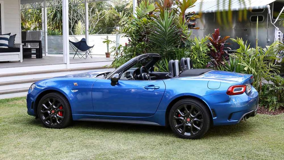 abarth 124 spider 2016 review | carsguide