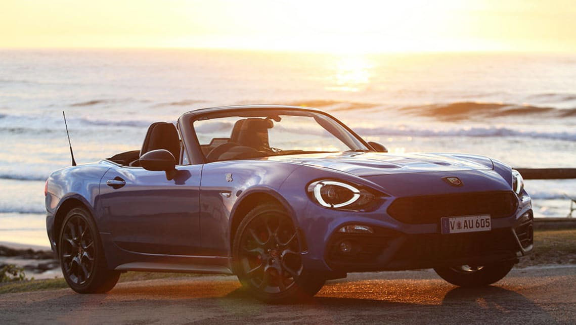 Abarth 124 Spider 2016 Review Carsguide