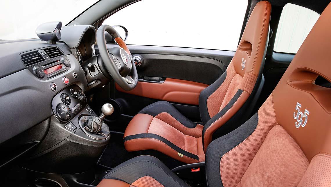Fiat Abarth 595 Competizione 2015 review   CarsGuide