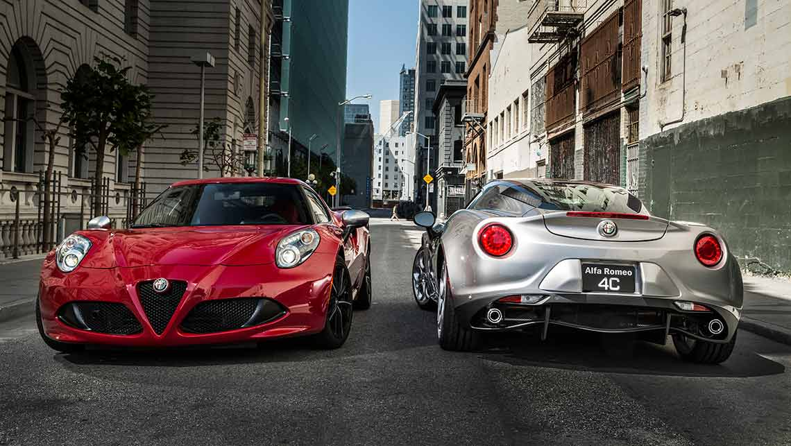 Alfa Romeo C New Car Sales Price Car News CarsGuide - Alfa romeo 4c sale