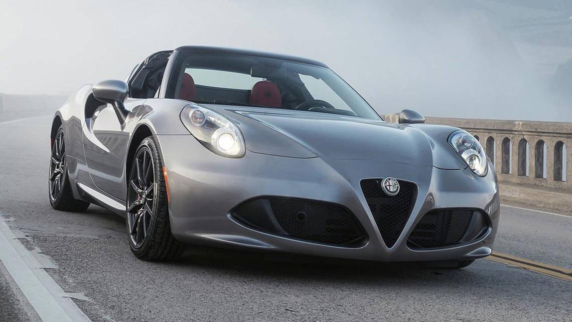 Alfa Romeo 4c Spider 2015 Review Carsguide