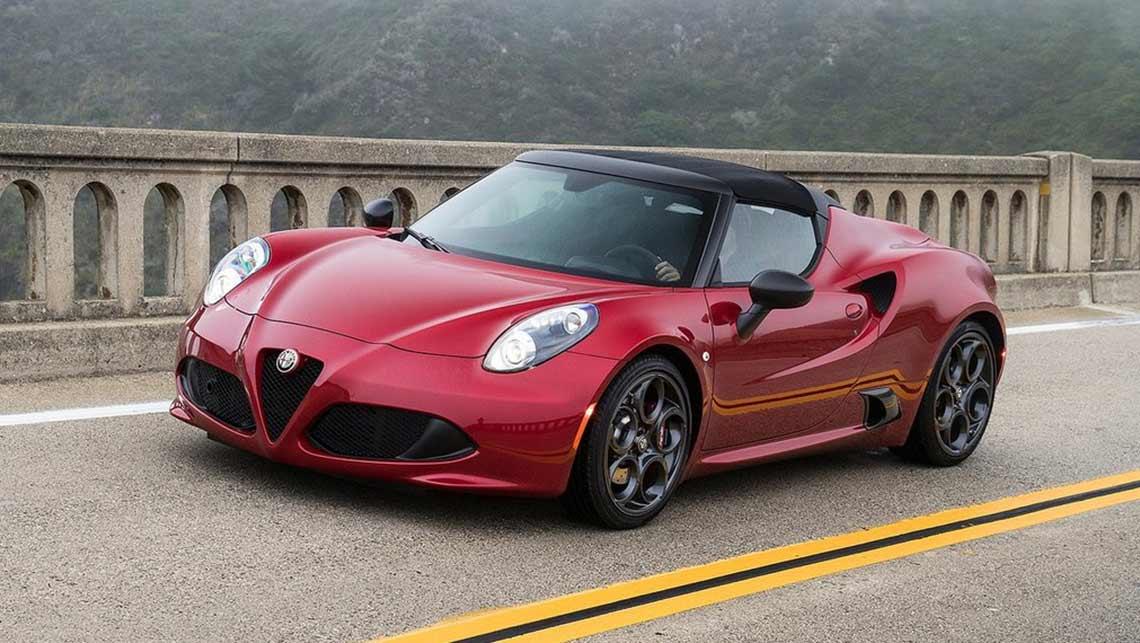 Alfa Romeo 4C Spider revealed - Car News   carsguide