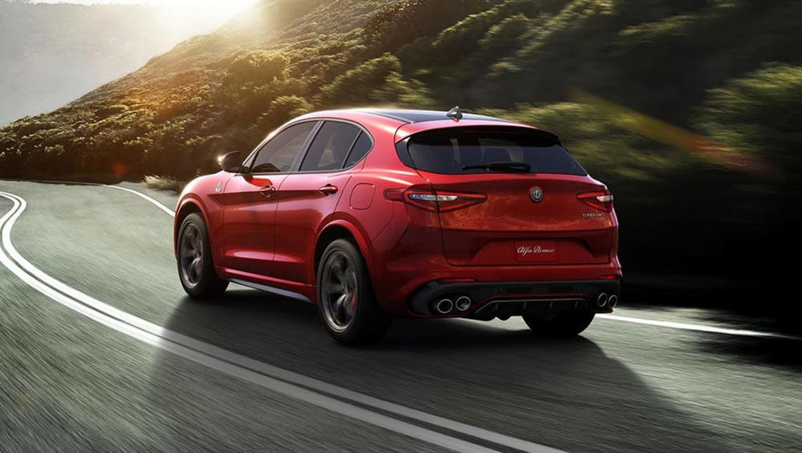 2017 Alfa Romeo Stelvio SUV Revealed In LA
