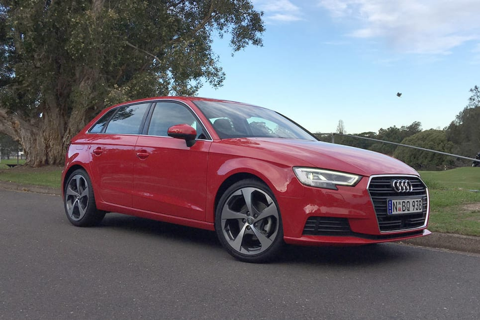 Audi A Sportback TFSI COD Review CarsGuide - 2018 audi a3 msrp