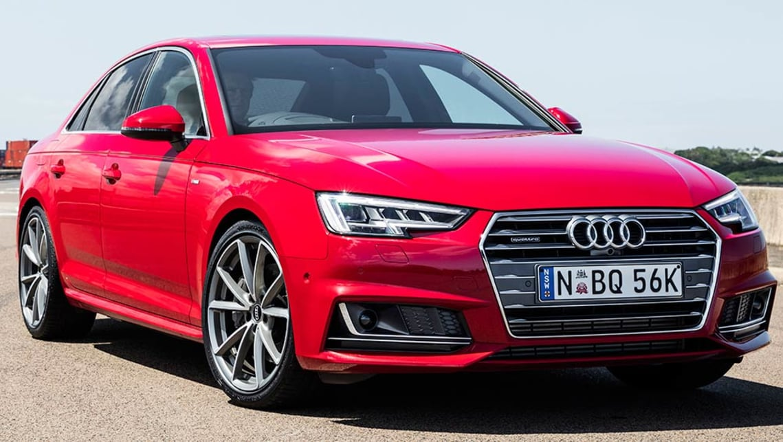 2016 Audi A4 2 0 Tfsi Quattro Review Road Test Carsguide