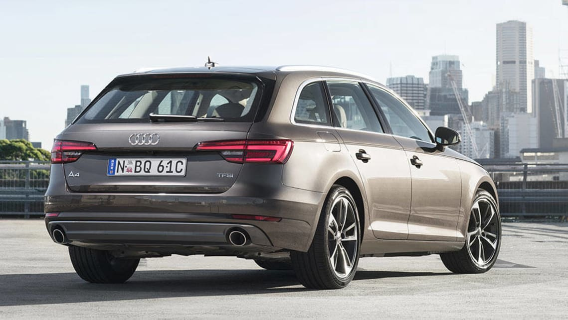 audi a4 avant 2 0 tfsi 2016 review road test carsguide. Black Bedroom Furniture Sets. Home Design Ideas