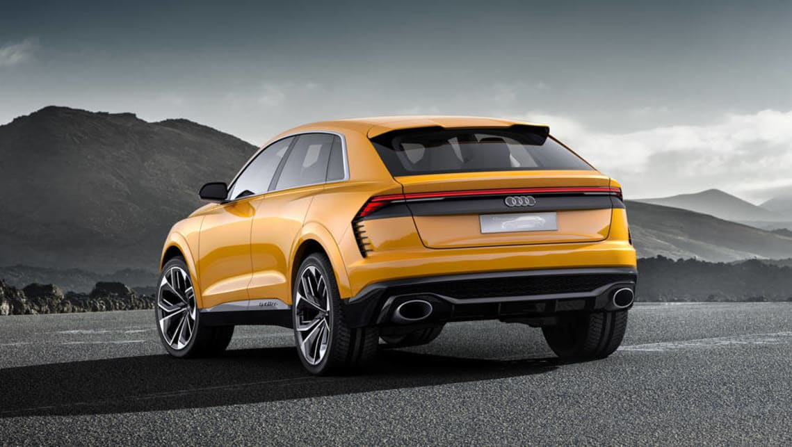 audi q8 sport concept revealed car news carsguide. Black Bedroom Furniture Sets. Home Design Ideas