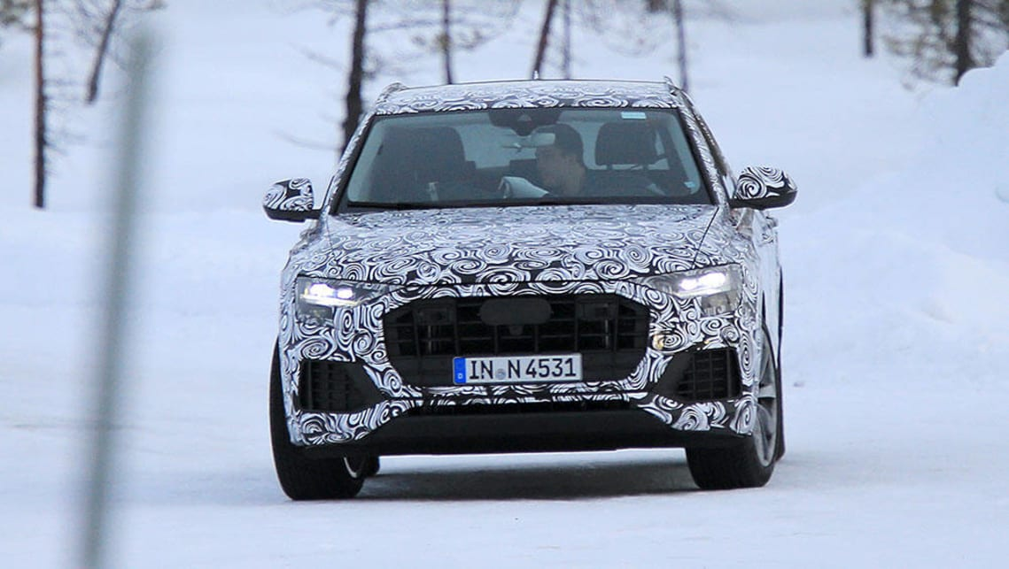 Audi Q SUV Spy Pics Car News CarsGuide - Audi cars q8 price list