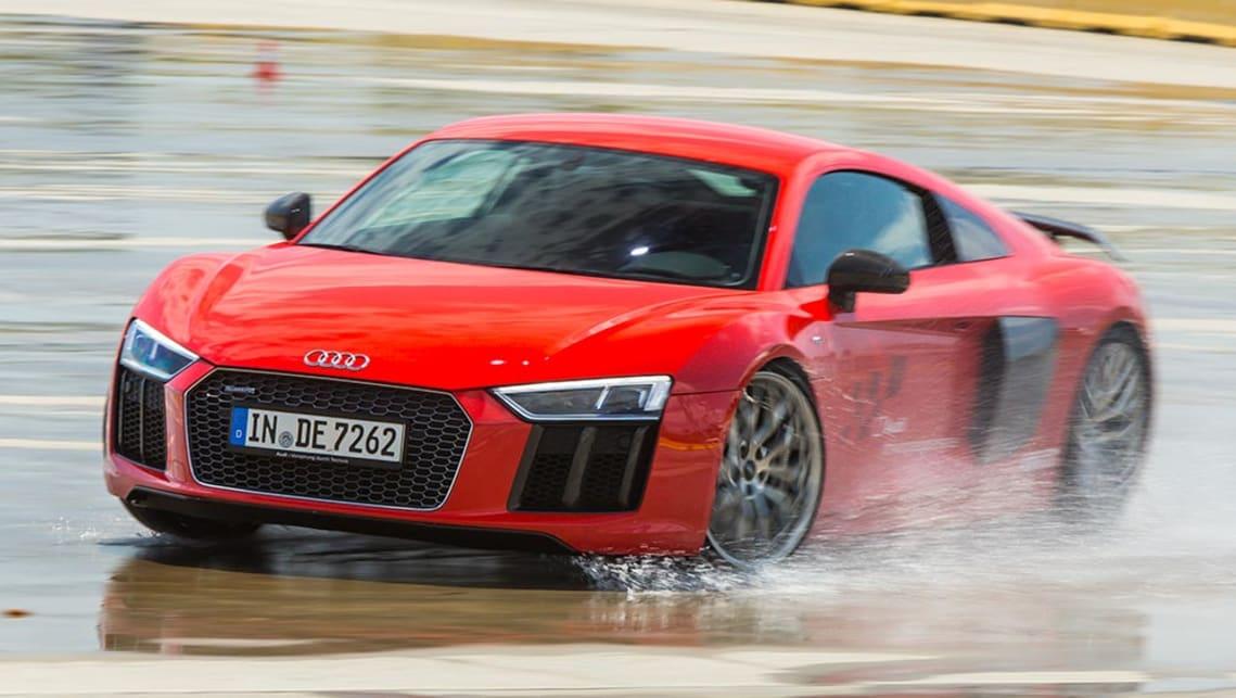 2016 Audi R8 V10 (overseas Model) At Sydney Motorsport Park.