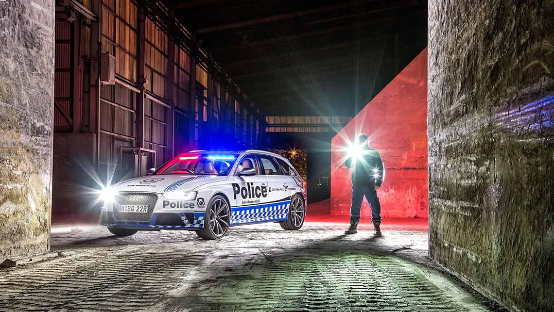Audi RS4 police car hits Sydney  Car News  CarsGuide