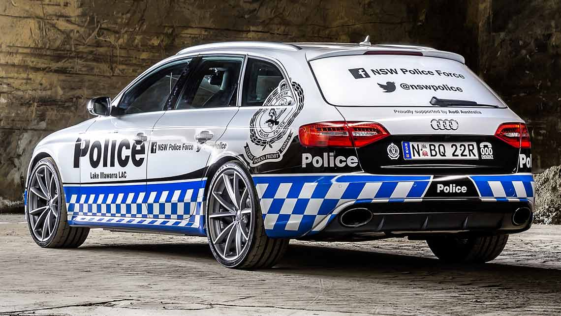 Audi Rs4 Police Car Hits Sydney Car News Carsguide