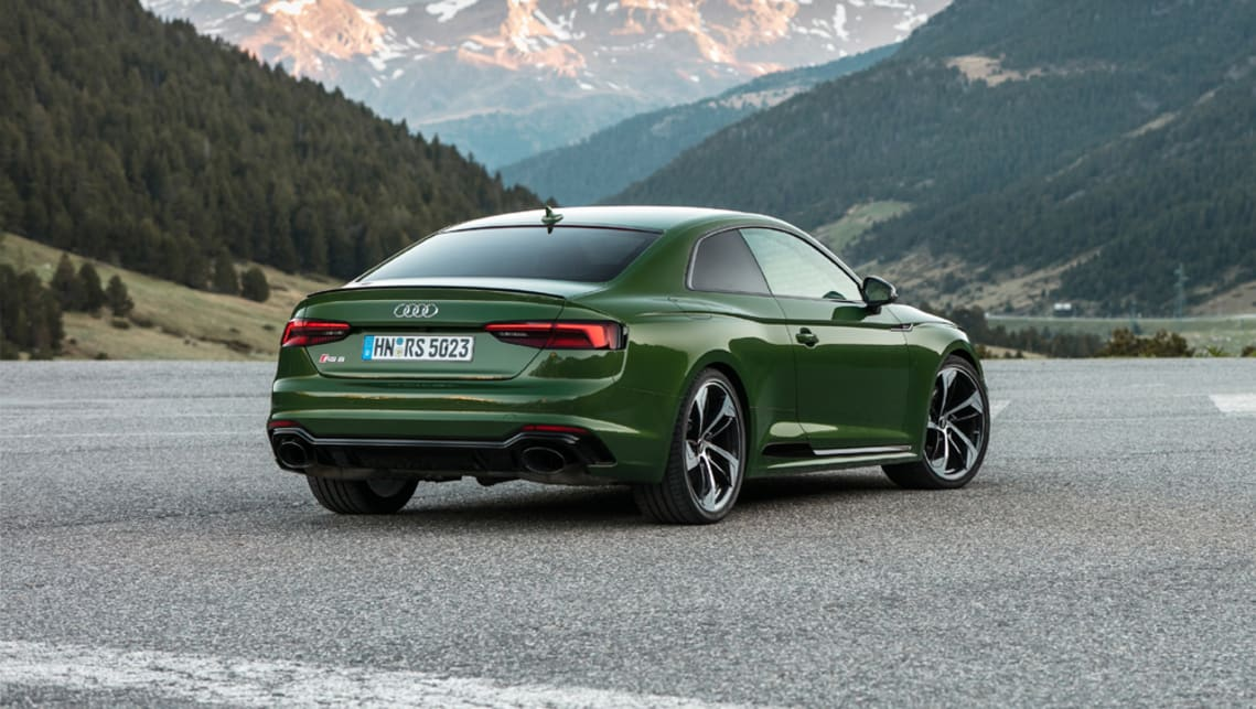 Audi RS5 Coupe 2017 pricing and spec confirmed - Car News | CarsGuide