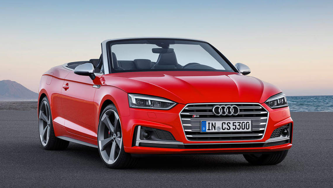 2017 Audi A5 And S5 Cabriolets Revealed Car News Carsguide