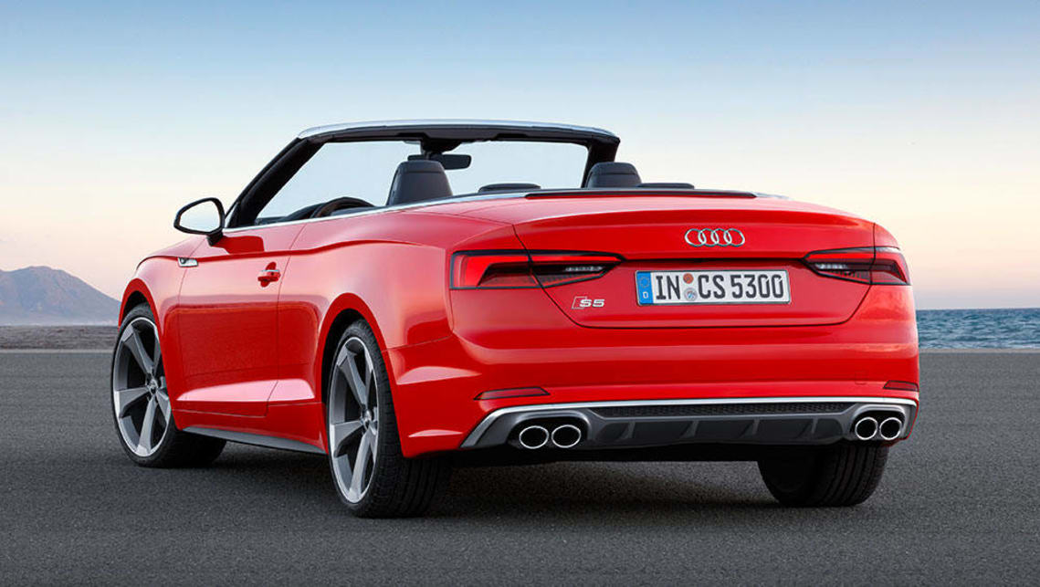 2017 audi a5 and s5 cabriolets revealed car news carsguide. Black Bedroom Furniture Sets. Home Design Ideas