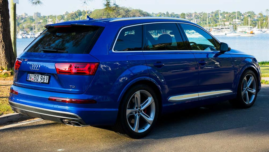 Audi Sq7 2017 Review Road Test Video Carsguide