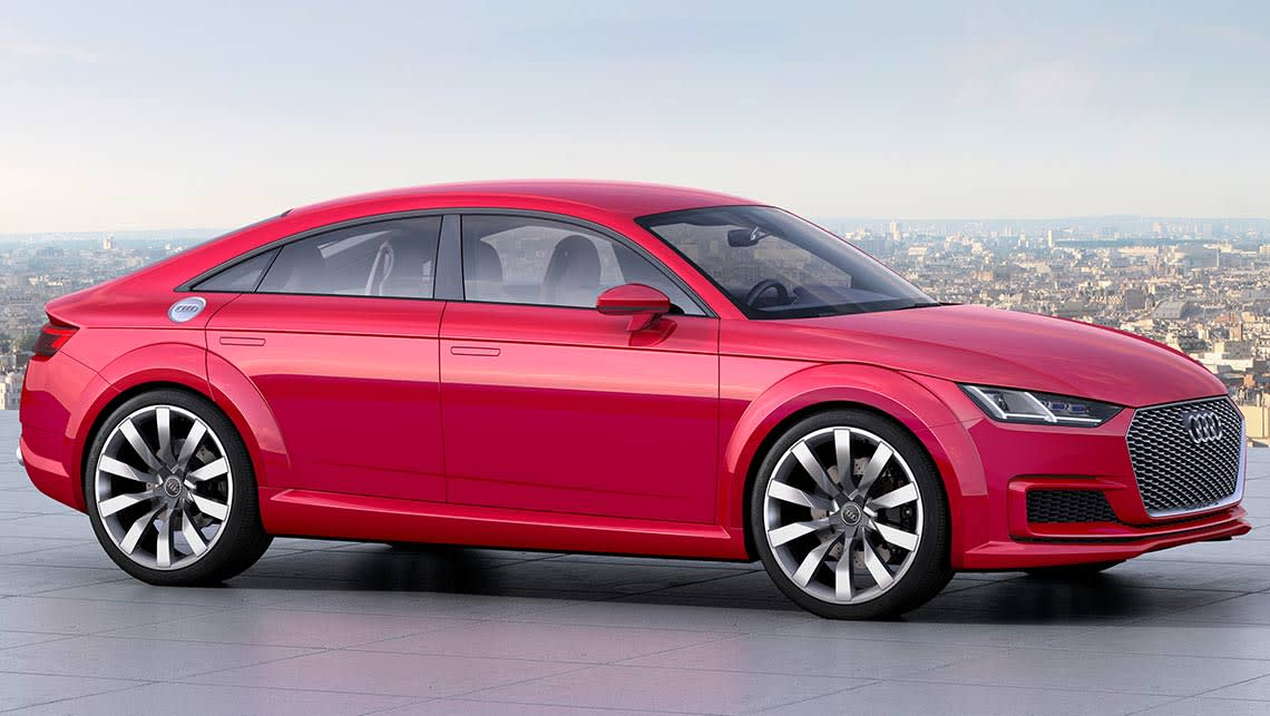 audi tt sportback concept revealed - car news | carsguide