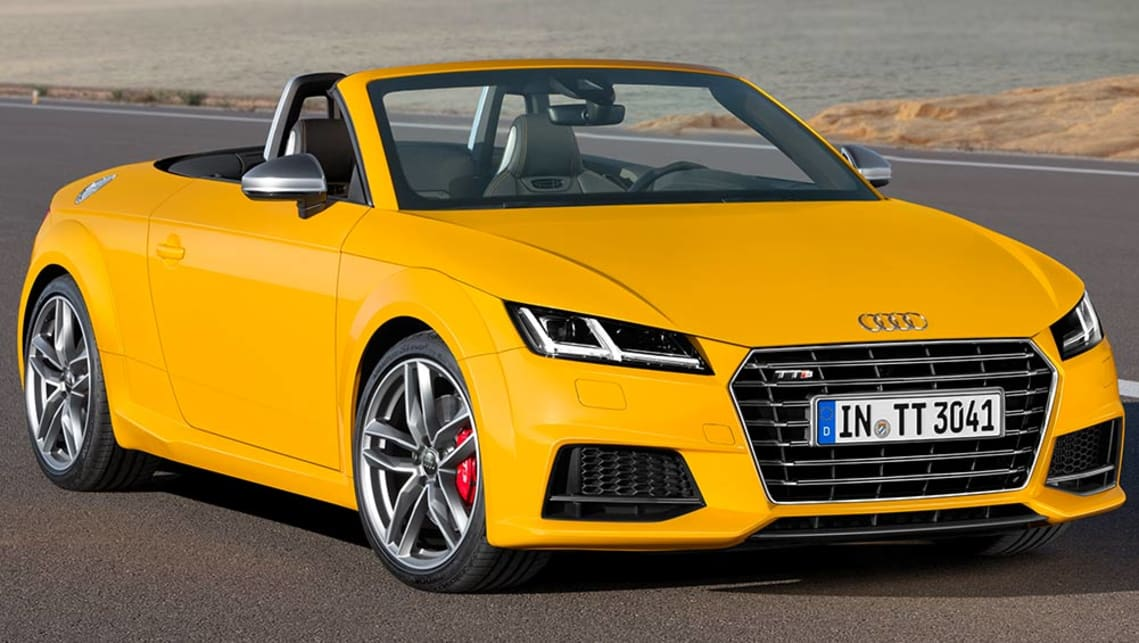 Audi TTS Roadster Review CarsGuide - Audi tt convertible