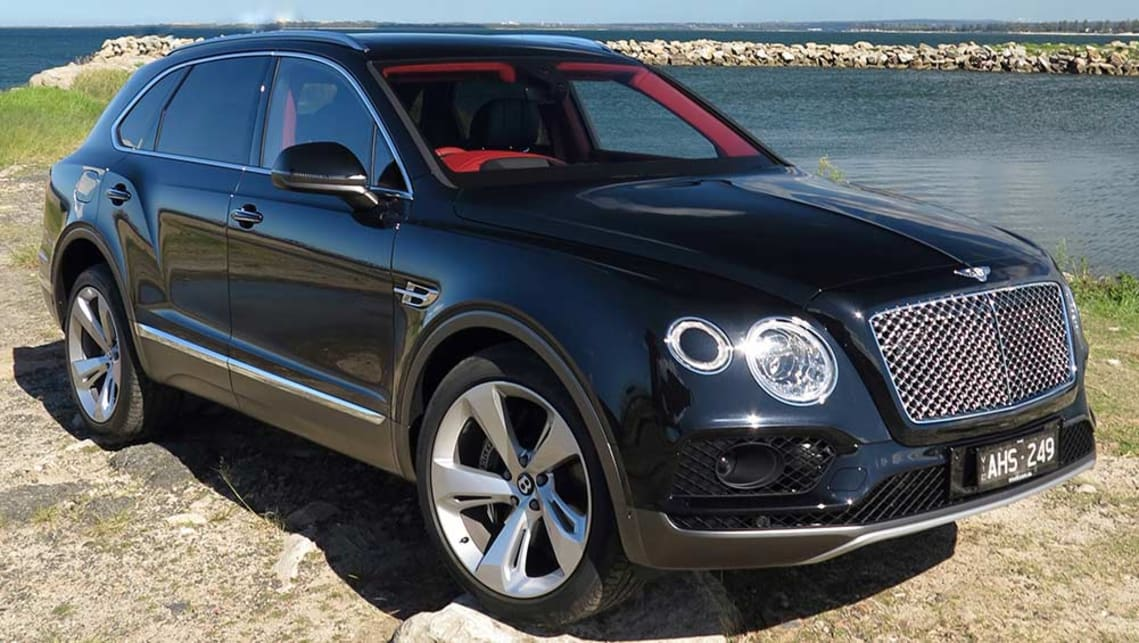 Bentley four wheel drive