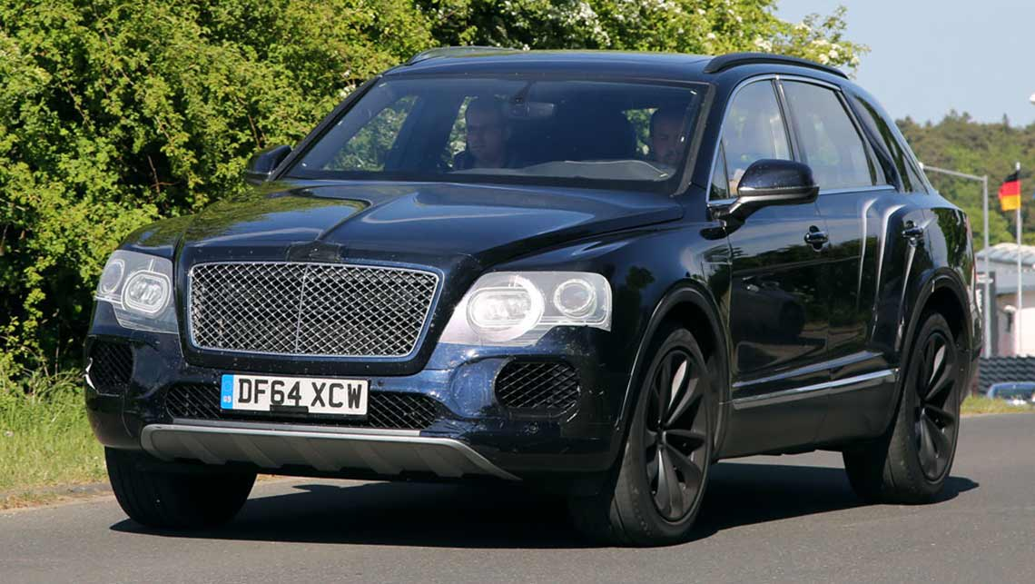 bentley bentayga suv to tow 3 5 tonnes car news carsguide. Black Bedroom Furniture Sets. Home Design Ideas