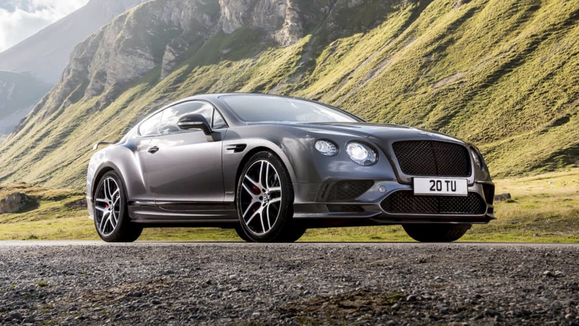 Amazing 2017 Bentley Continental Supersports