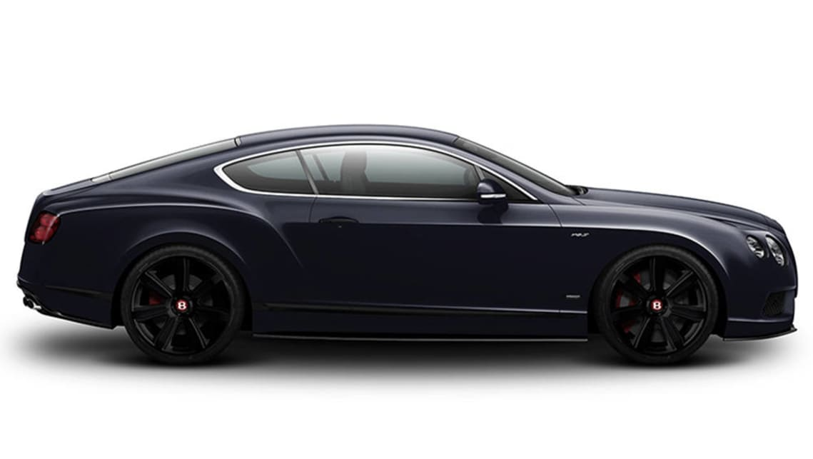 2015 Bentley Continental GT V8 S Concours Series Black Edition