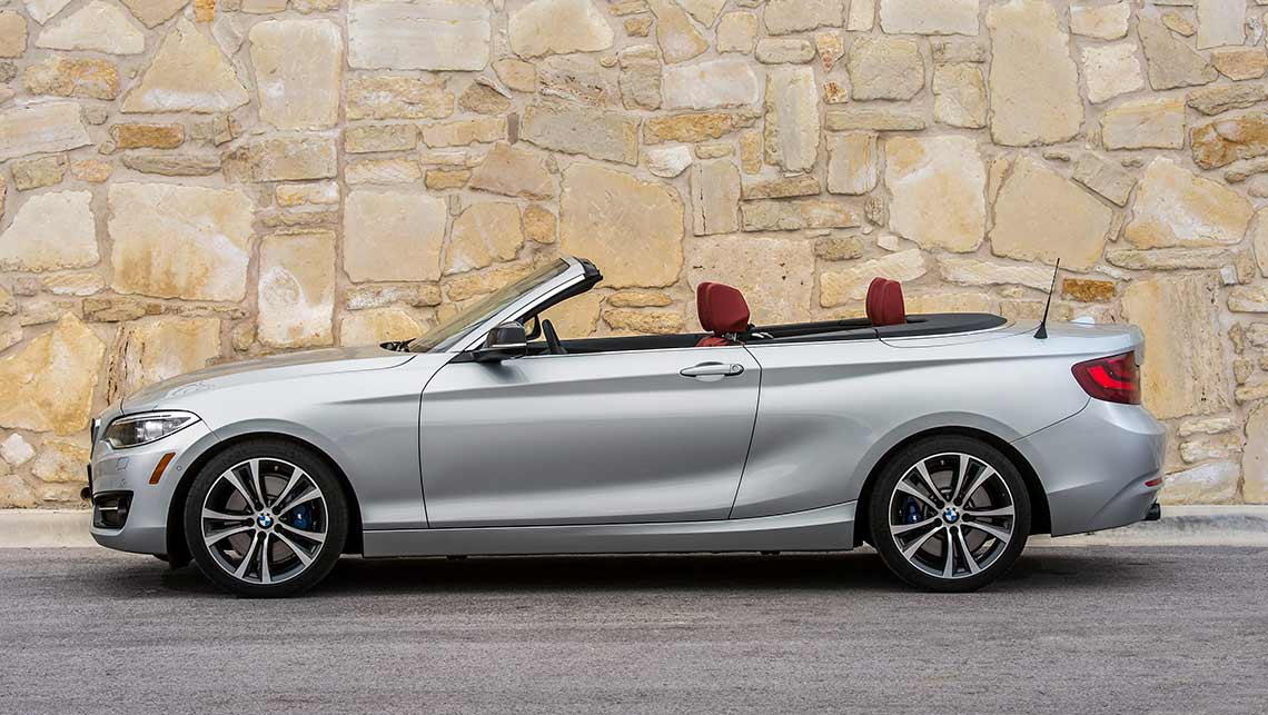 BMW I Convertible Review CarsGuide - Bmw 2 series weight