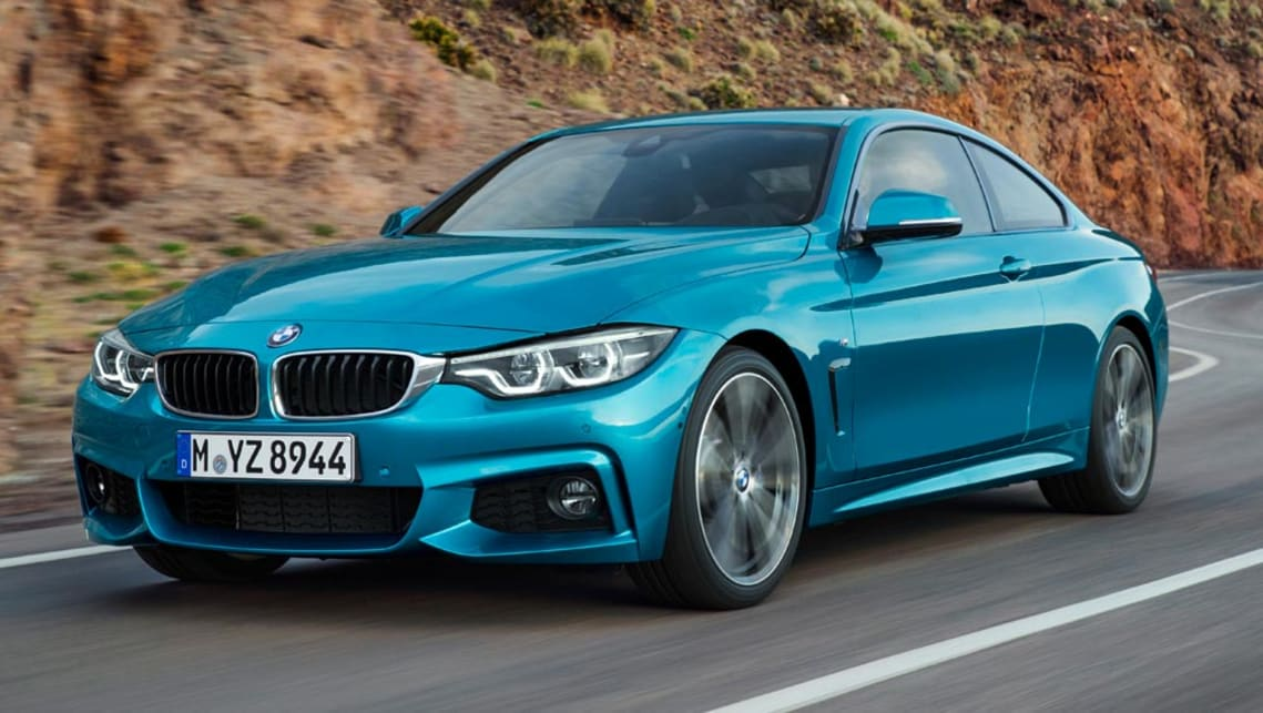 2017 bmw 4 series range receives mild facelift car news. Black Bedroom Furniture Sets. Home Design Ideas