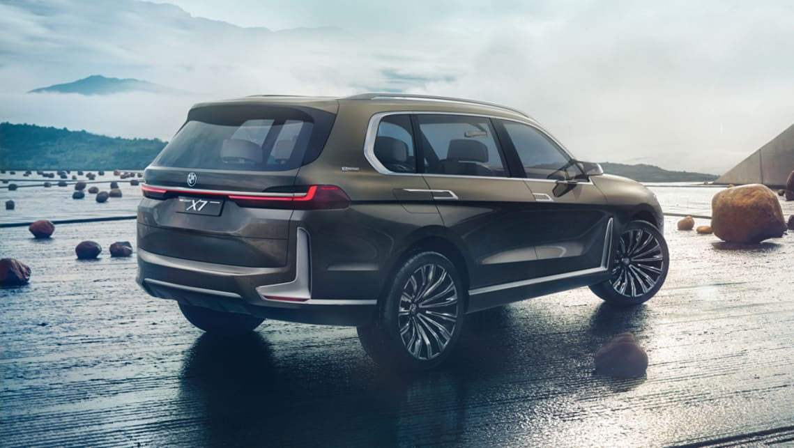 Bmw X7 Concept Revealed Ahead Of Frankfurt Car News