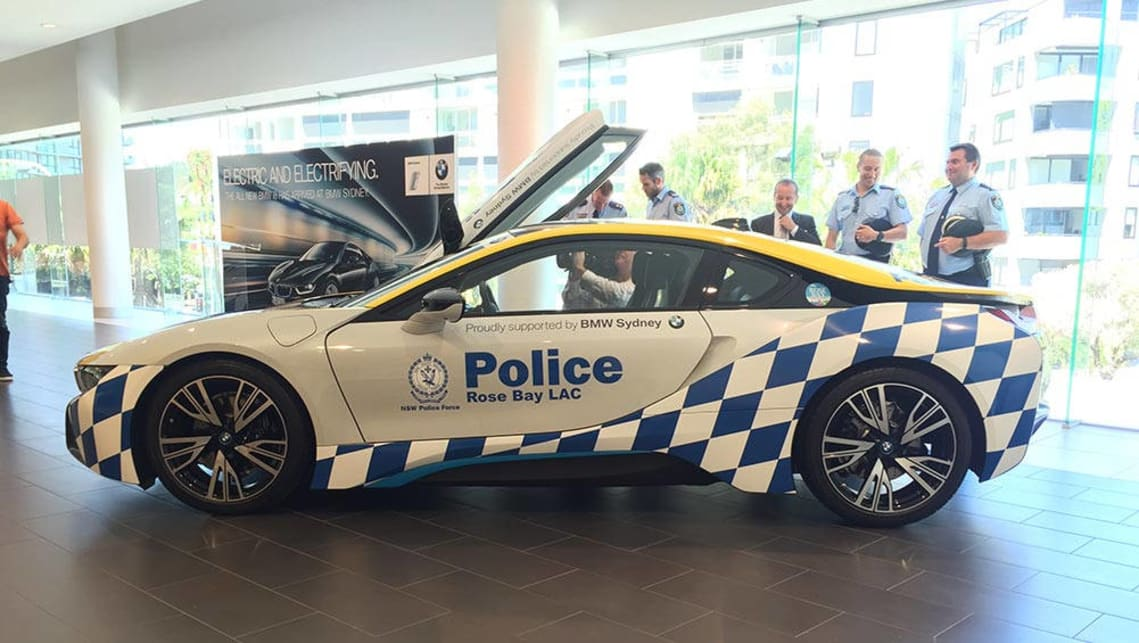 Nsw Police Reveal Bmw I8 Car News Carsguide