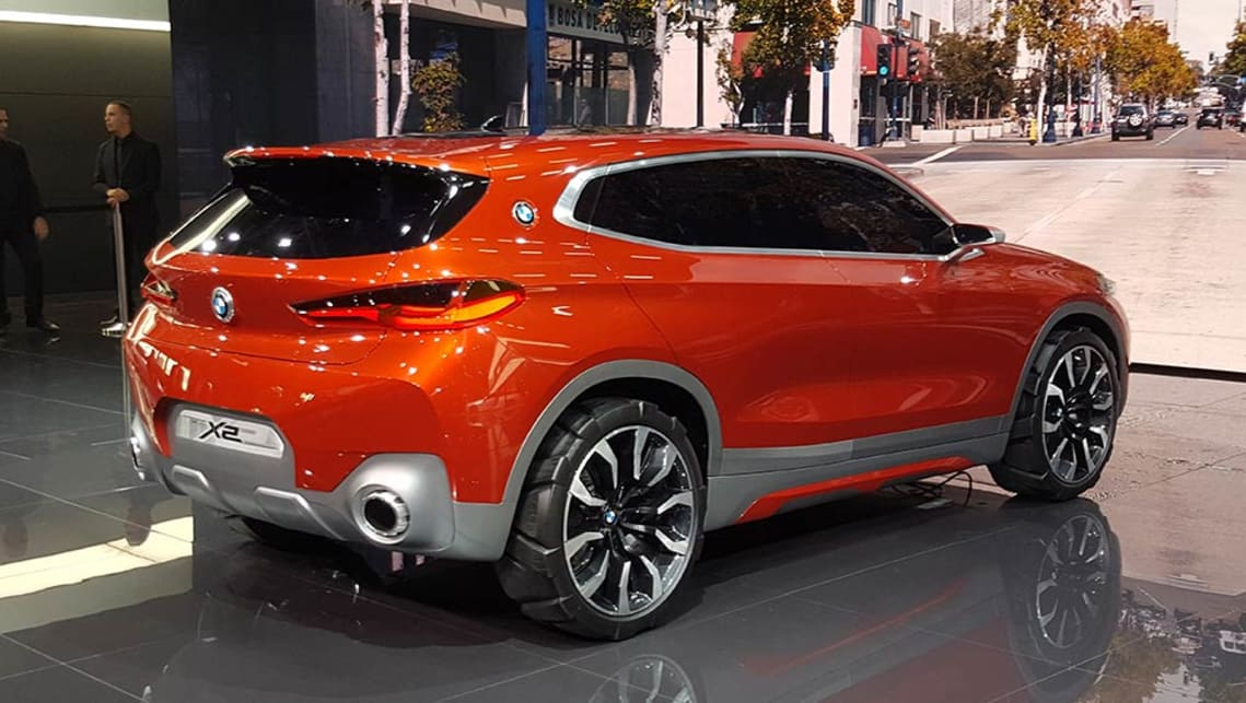 Bmw X2 Suv Concept Revealed In Paris Video Car News Carsguide