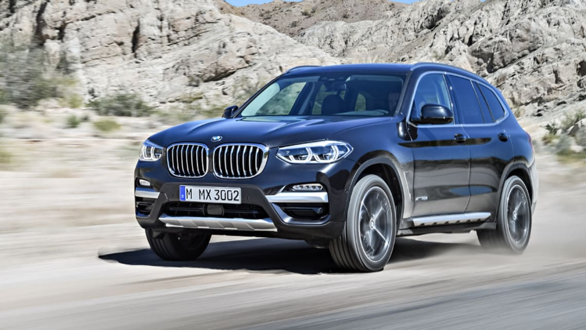 bmw x3 revealed ahead of 2017 australian debut car news. Black Bedroom Furniture Sets. Home Design Ideas