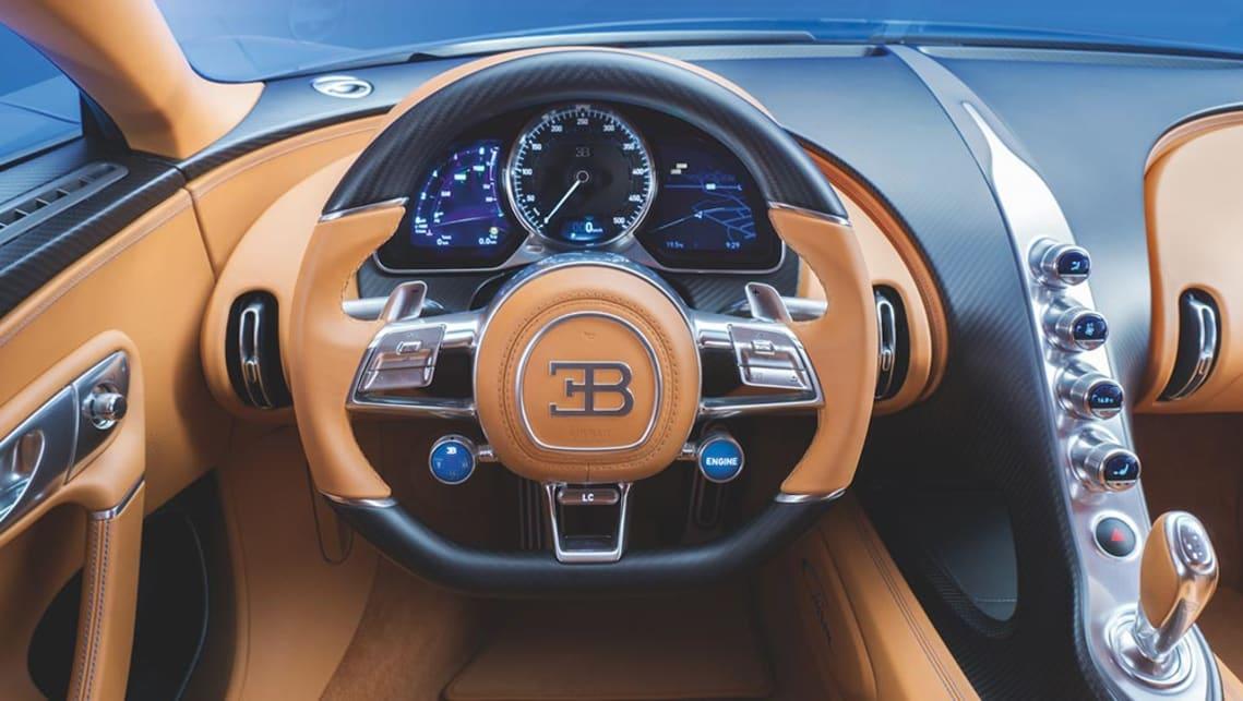 2017 bugatti chiron revealed - car news   carsguide