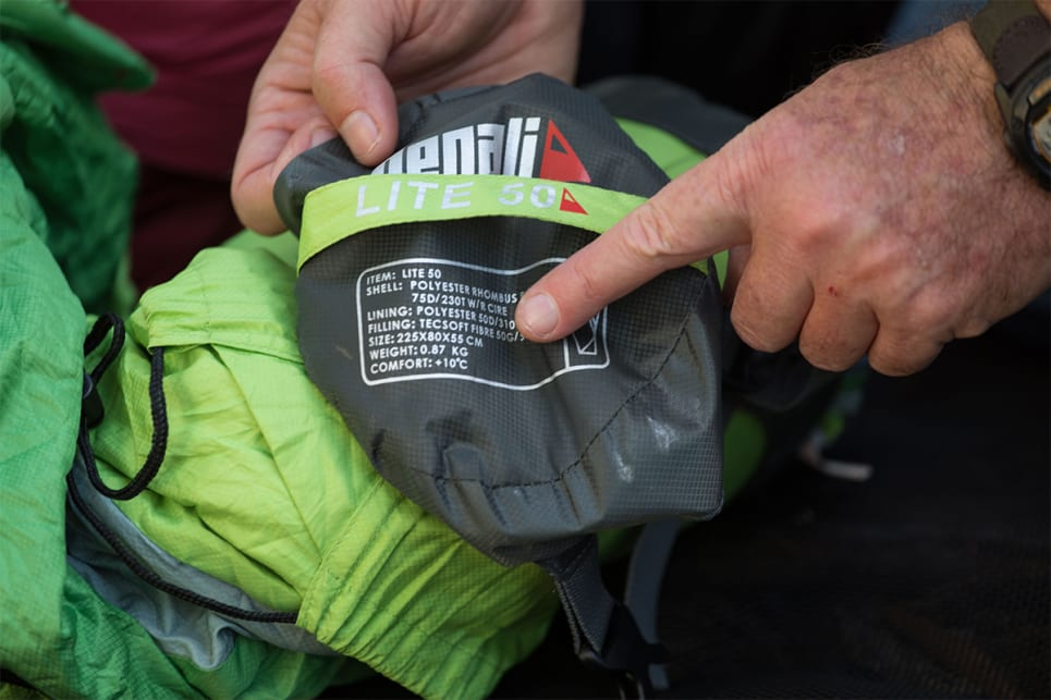 down-fill bags have been the preferred option due to that fibre's better warmth for weight performance. (image credit: Dean McCartney)