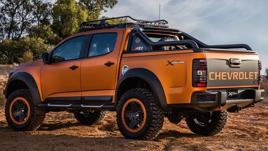 2018 Chevy Colorado Zr2 Accessories >> 2016 Holden Colorado ute update previewed in Bangkok - Car News | CarsGuide