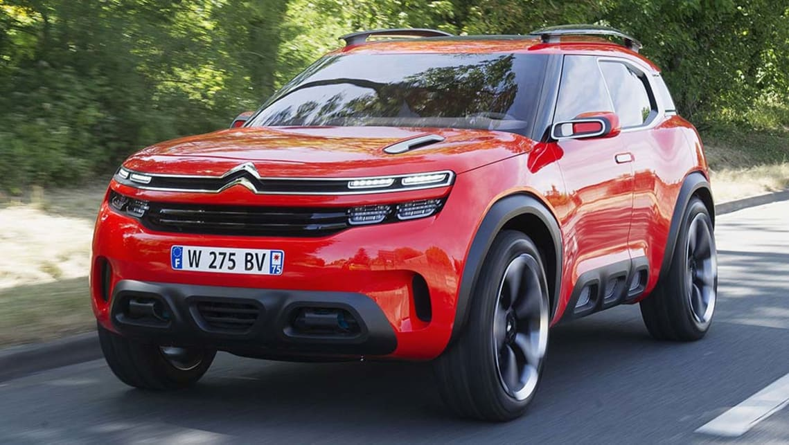 citroen aircross concept 2015 review carsguide. Black Bedroom Furniture Sets. Home Design Ideas
