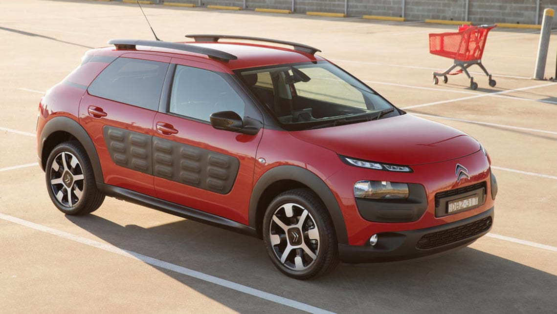 citroen c4 cactus manual 2016 review carsguide. Black Bedroom Furniture Sets. Home Design Ideas