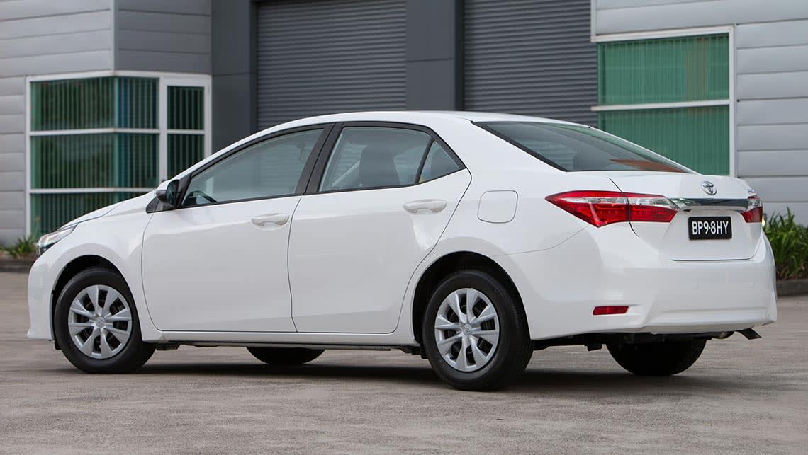 2014 Toyota Corolla Sedan Manual Review Carsguide