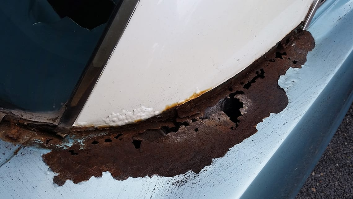 how to fix rust spots on a car