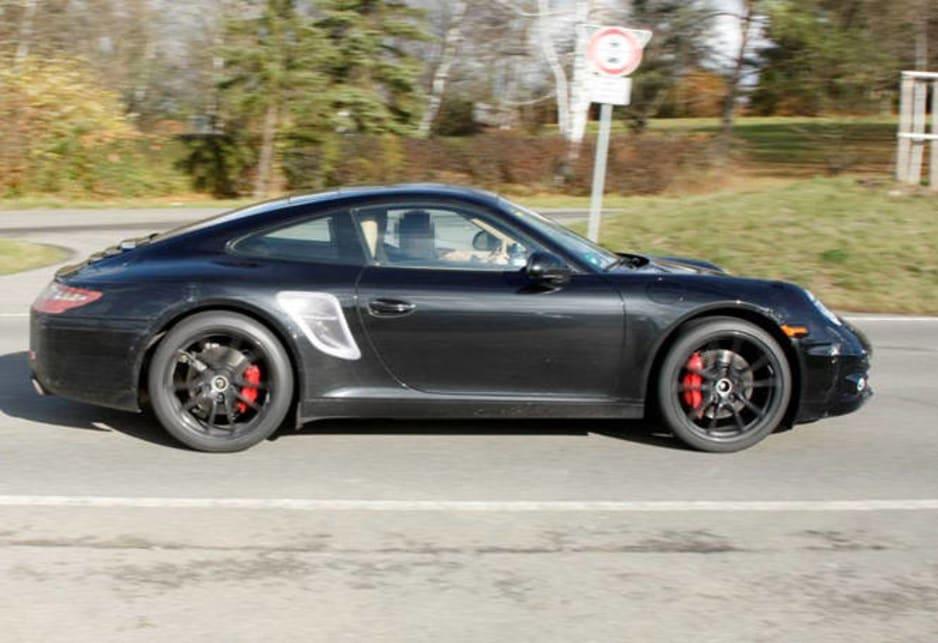 Spy Shot Porsche 911 998 Car News Carsguide