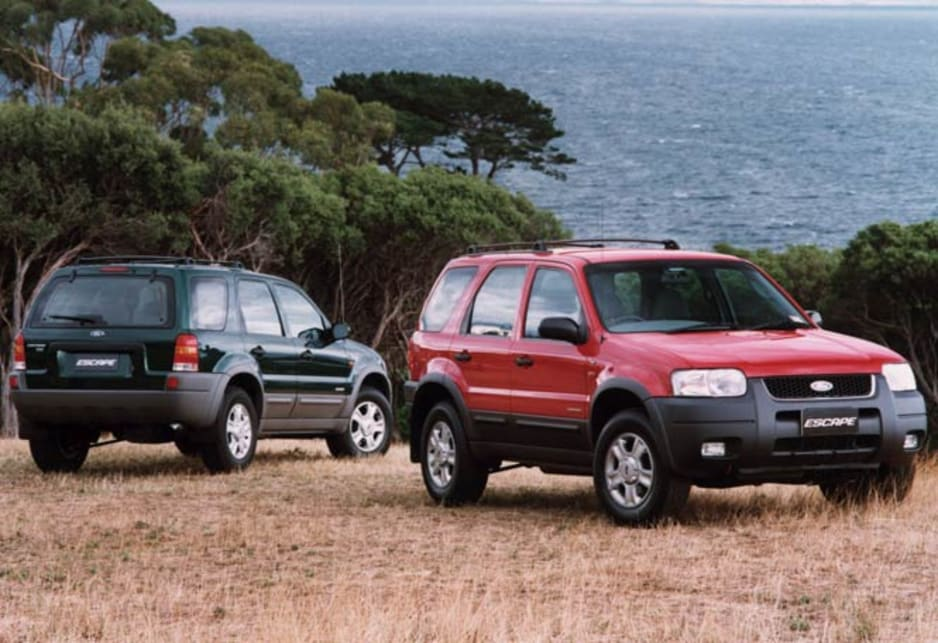 2001 ford escape review