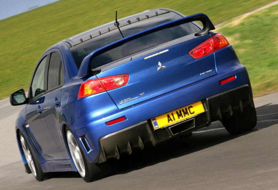 how to make a lancer evo faster