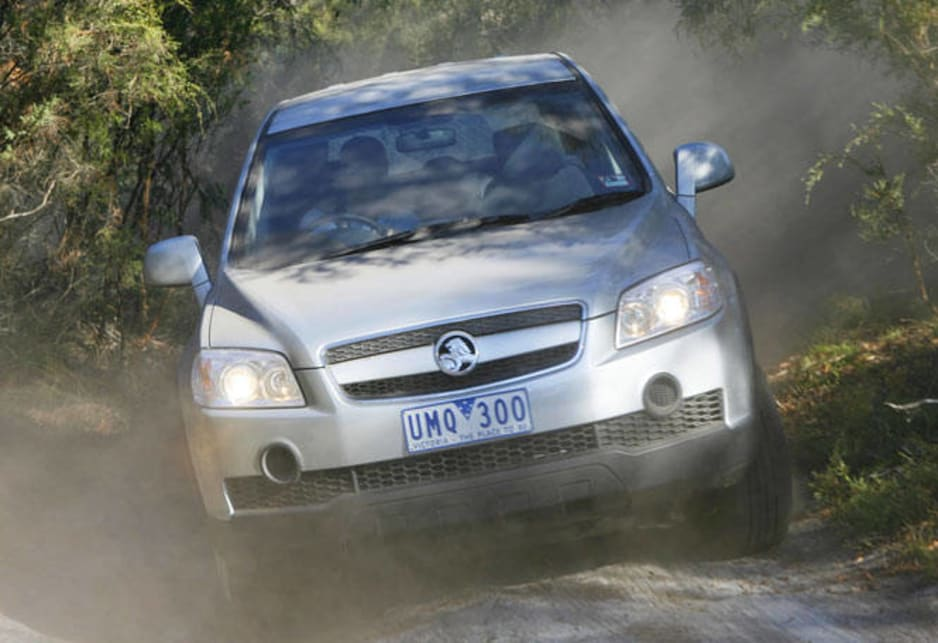 2007 Holden Captiva SX Turbo Diesel