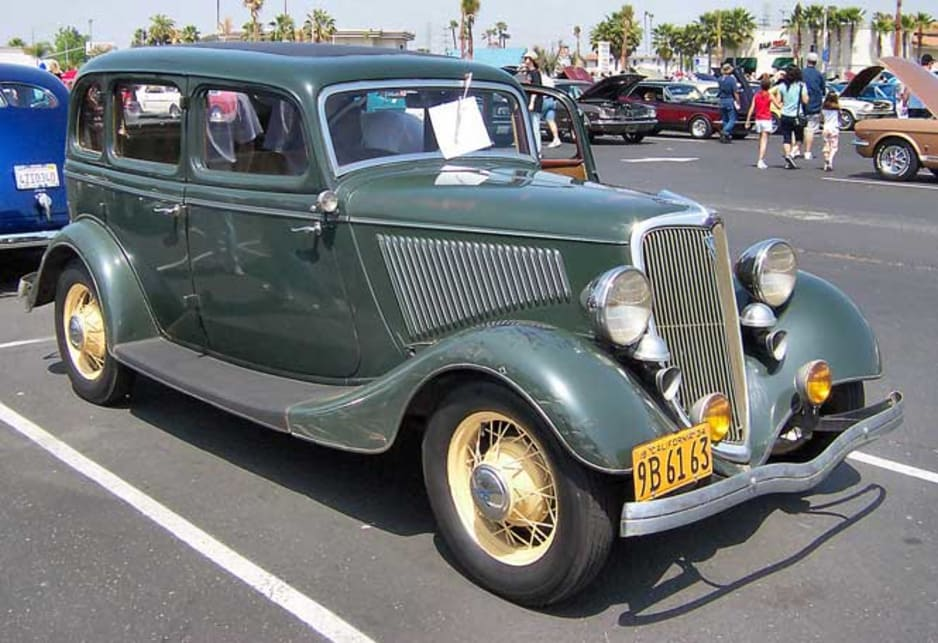 1934 Ford Fordor