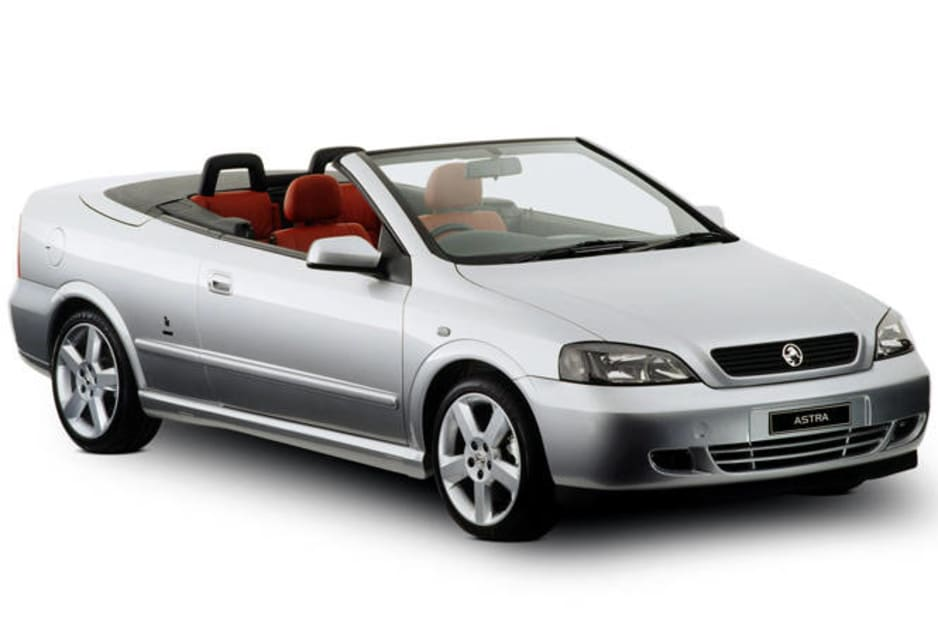 2003 Holden Astra SRi Turbo Cabrio