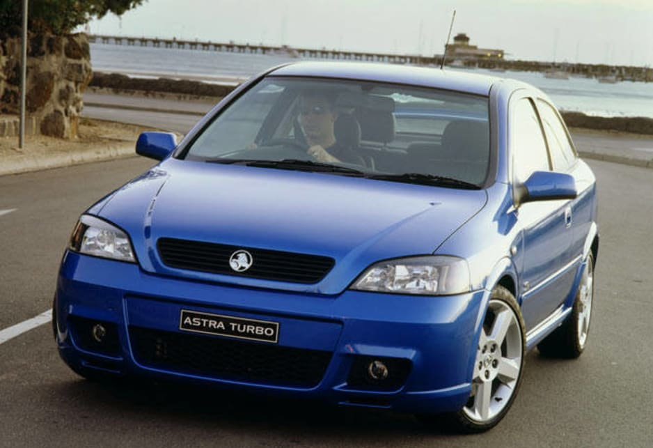 2003 Holden Astra SRi Turbo