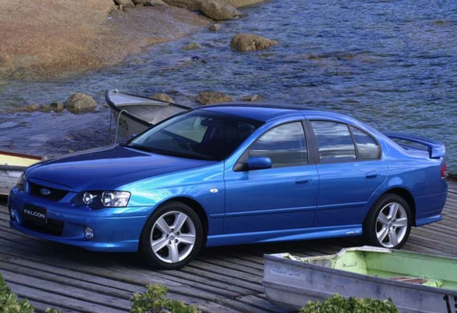 Used Ford Falcon review: 2002-2004 | CarsGuide