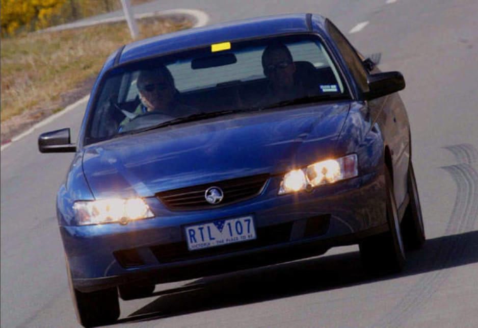 2002 Holden Commodore VY